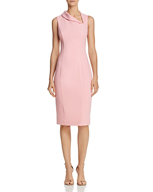 Black Halo Blaze Asymmetric-neck Dress In Ice Cream
