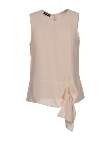 Emporio Armani Top In Pale Pink