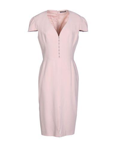Alexander Mcqueen Knee-length Dresses In Pastel Pink