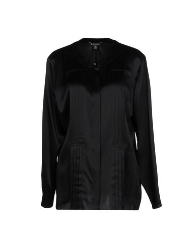 Brooks Brothers Silk Shirts & Blouses In Black