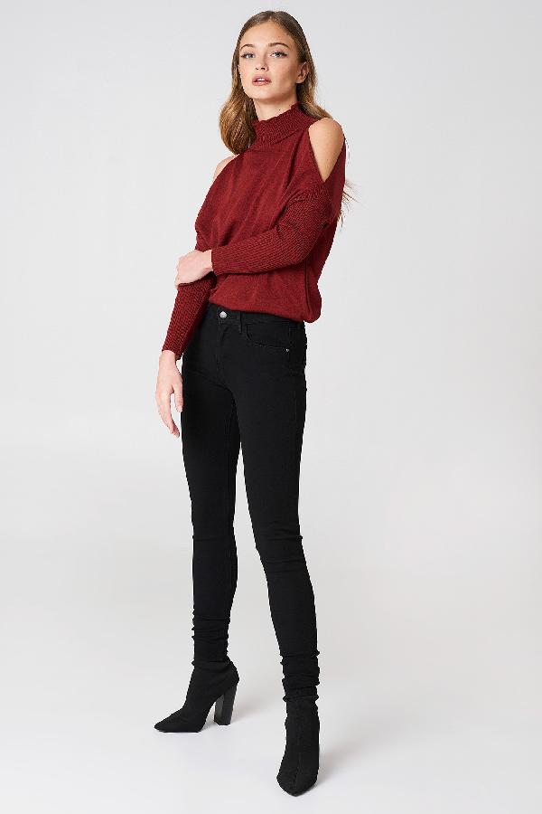 Wrangler Super Skinny Jeans - Black