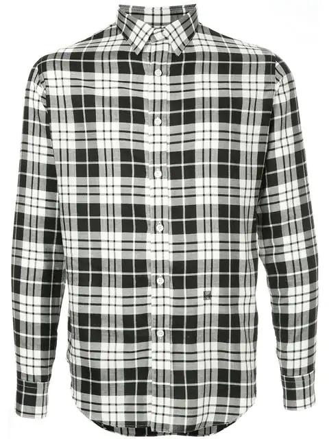 N.hoolywood Check Shirt