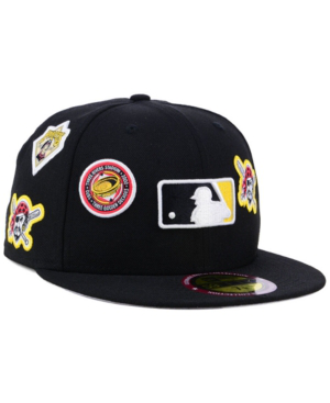 New Era Pittsburgh Pirates Ultimate Patch Collection All Patches 59fifty Cap In Black