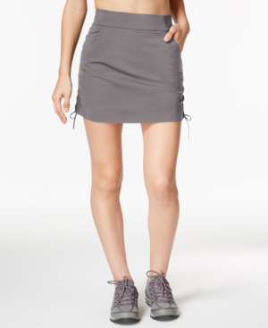 Columbia Anytime Casual Omni-shield Skort In Light Grey