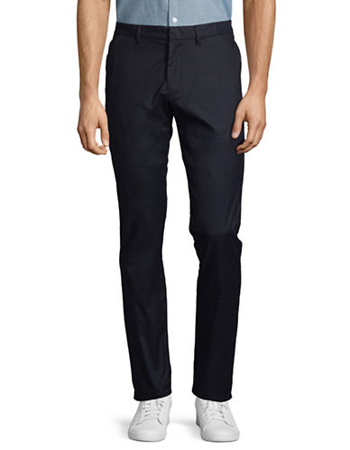 Calvin Klein Classic Tech Pants-navy