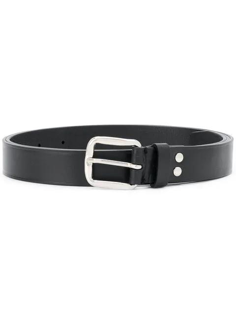 Ann Demeulemeester Classic Leather Belt
