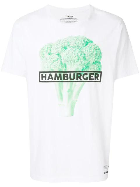 Diesel Hamburger T-shirt