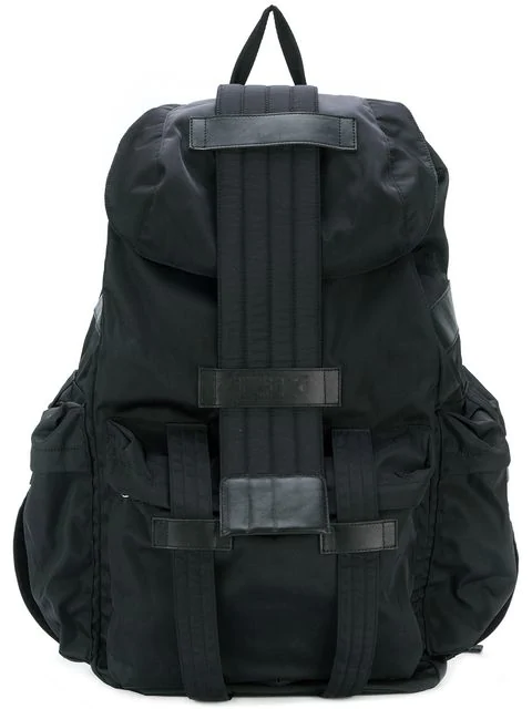 Ktz Multi-pocket Backpack In Black