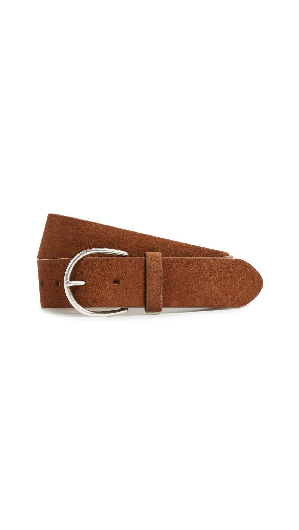 Frame U-buckle Belt In Cognac