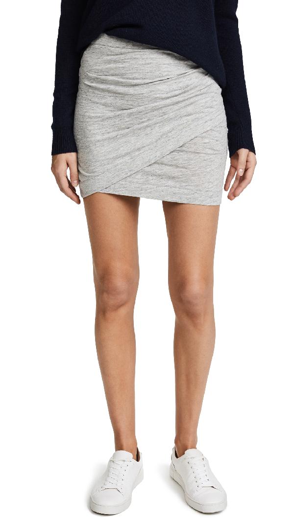 Iro Bamma Skirt In Light Grey