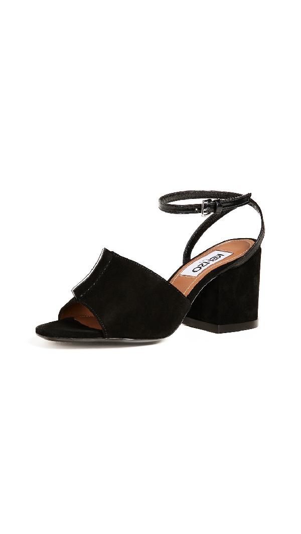 Kenzo Daria Sandals In Black