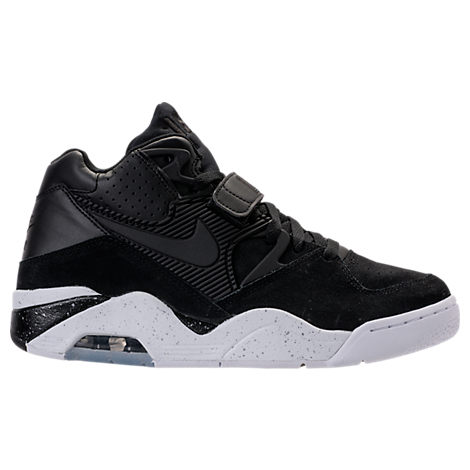 Nike Men's Air Force 180 Basketball Shoes, Black