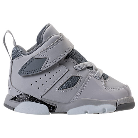 the latest e2e15 9c8e3 Boys' Toddler Air Jordan Flight Club '91 Basketball Shoes, Grey