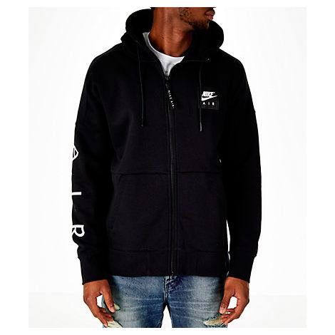 Nike Men's Sportswear Air Full-zip Hoodie, Black