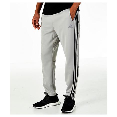 Adidas Originals Men's Id Snap Tack Pants, Grey
