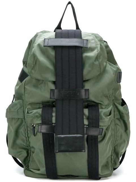 Ktz Multi-pocket Backpack - Green
