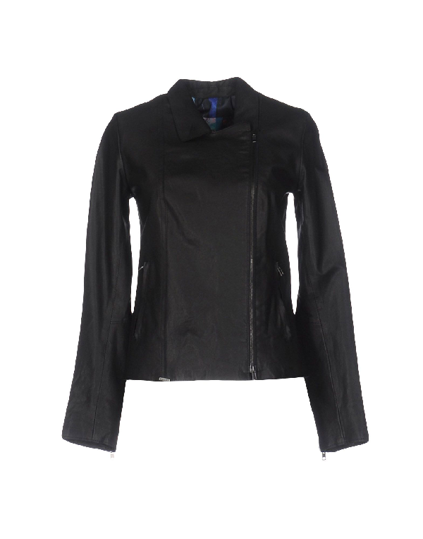 Sword 6.6.44 Biker Jacket In Black