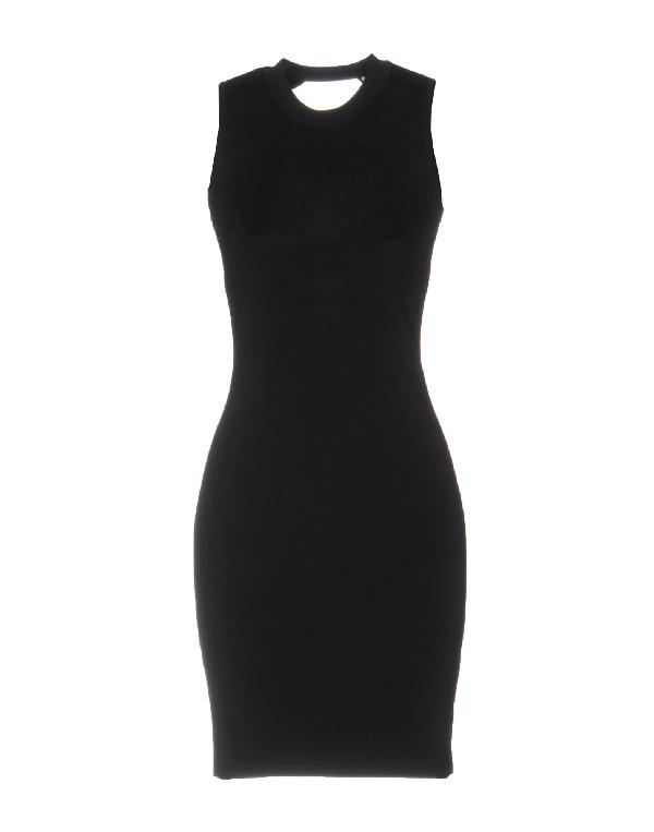 Alexander Wang T Short Dress In Black