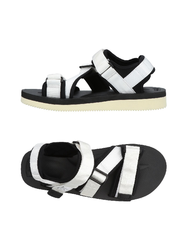 Suicoke Sandals In White
