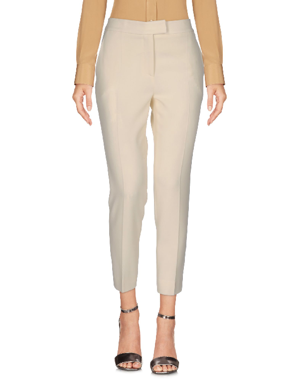 Moschino Cheap And Chic Casual Pants In Ivory