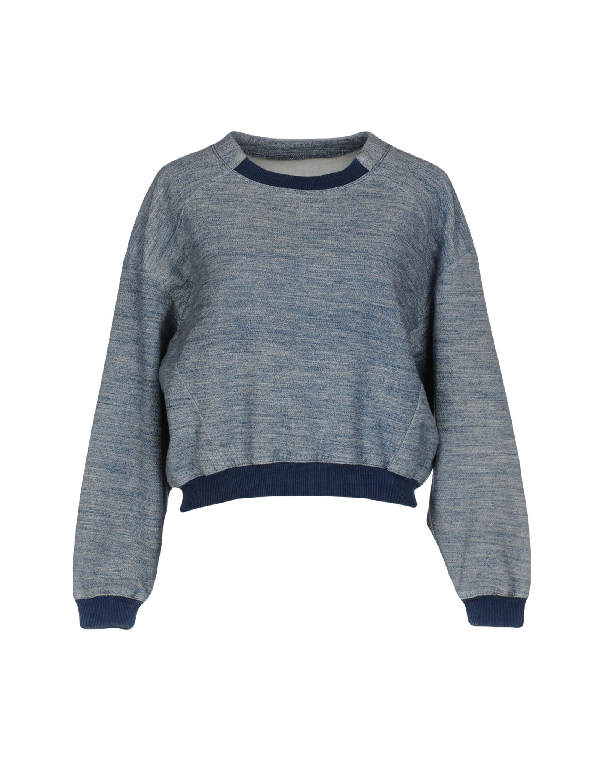 Guess Sweatshirts In Dark Blue