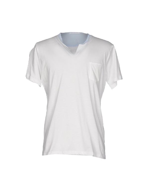 Daniele Alessandrini T-shirts In Ivory