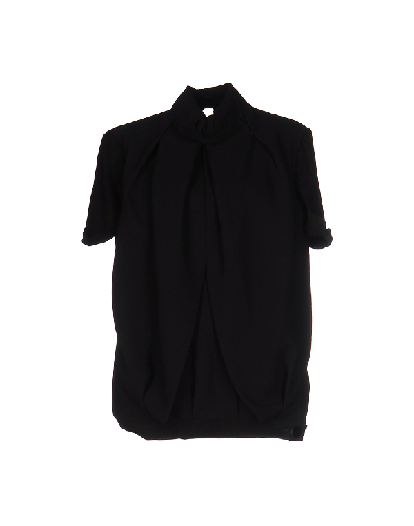 Costume National T-shirt In Black