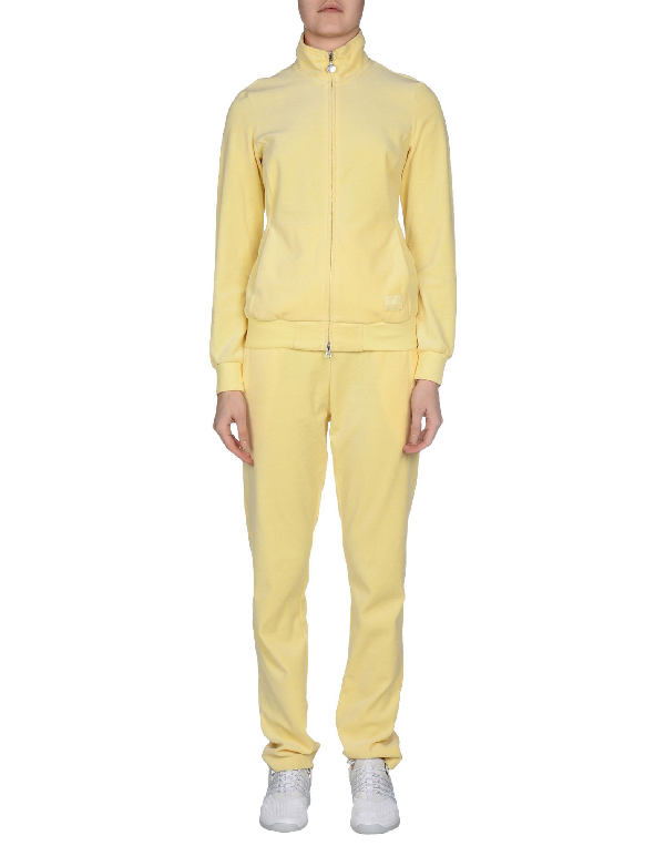 Ea7 Sweatsuits In Light Yellow