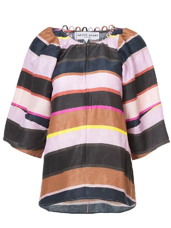 Apiece Apart Striped Blouse