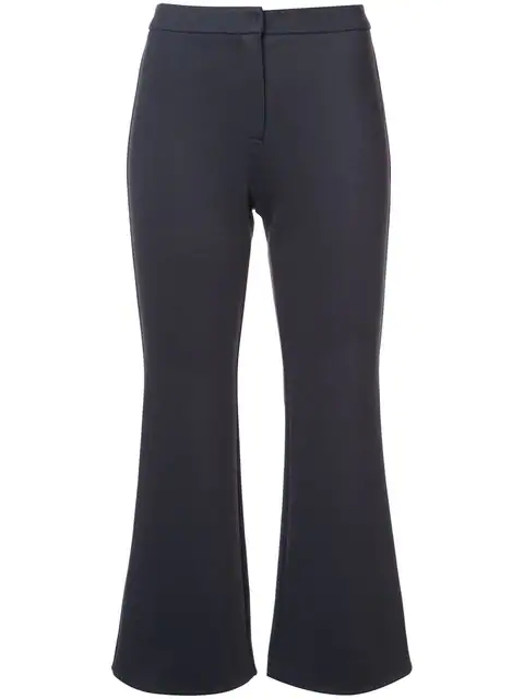 Kuho Cropped Tailored Trousers