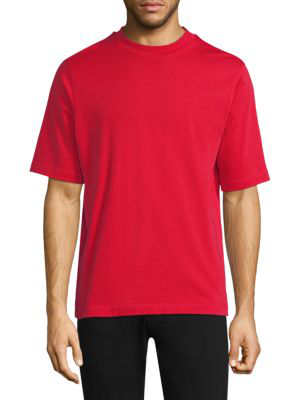 Helmut Lang Oversized Military T-shirt In Red