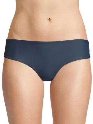 Mikoh Swimwear Cruz Bay Bikini Bottom In Drop Off Blue