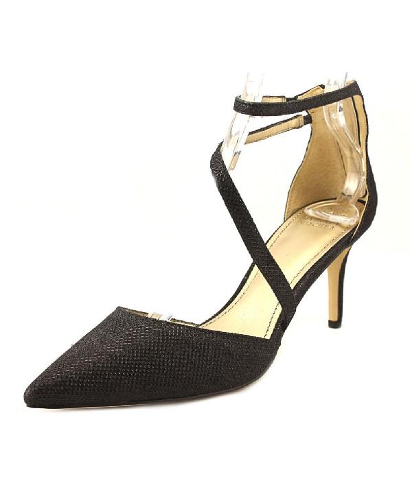 Badgley Mischka Zafina Women  Open Toe Synthetic Black Sandals