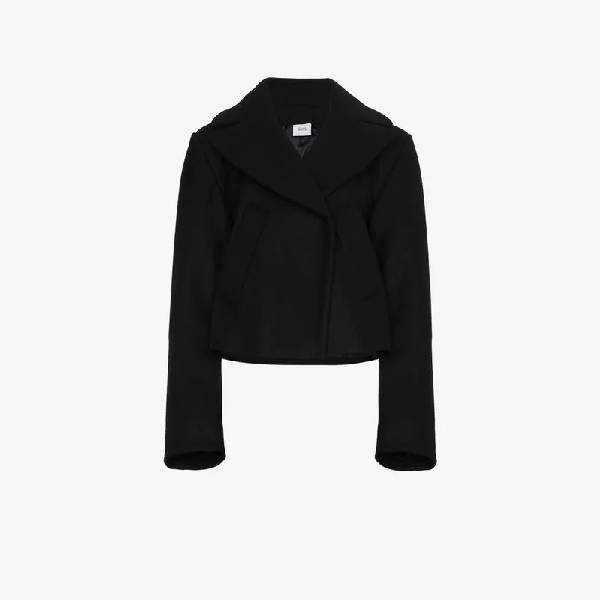 Vetements Cropped Jacket In Black