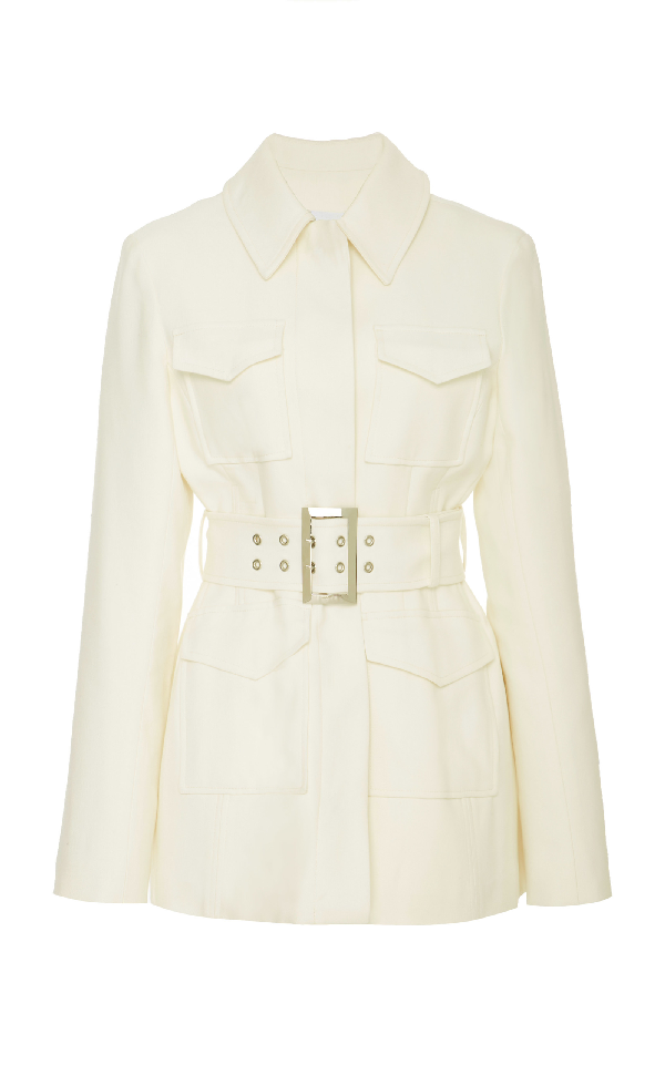 Beaufille Umera Multi-pocket Jacket In White
