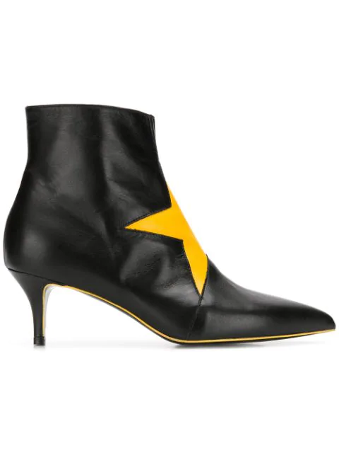 Msgm Ankle Boot In Black