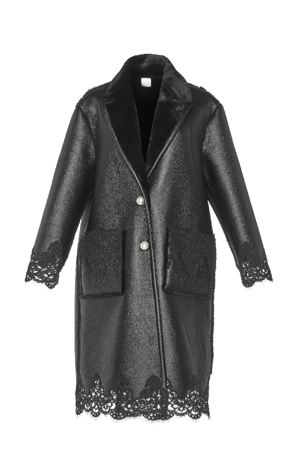Huishan Zhang Sofia Coat In Black