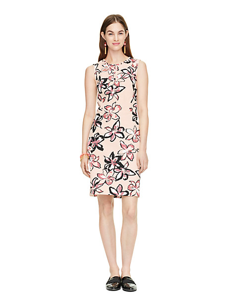 Kate Spade Tiger Lily Emrick Dress In Antilles Bubbles