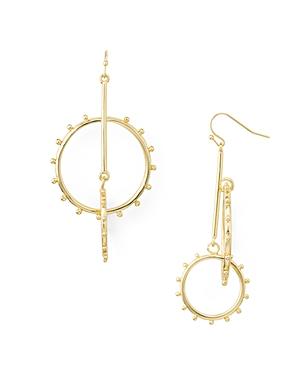 Aqua Interlinked Drop Earrings - 100% Exclusive In Gold
