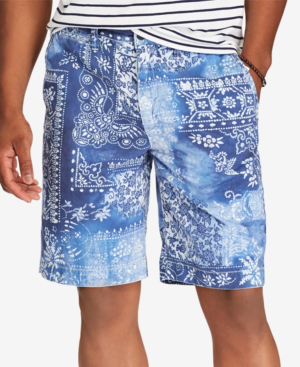 Polo Ralph Lauren Men's Relaxed-fit Chino 10' Shorts In Moroccan Tile