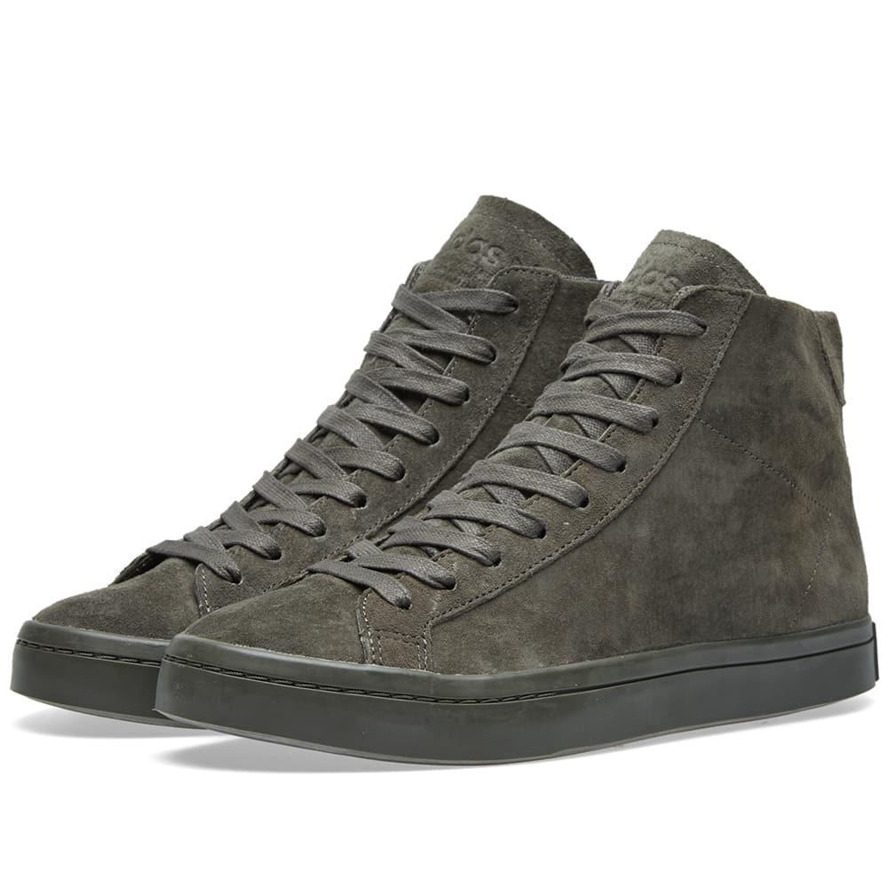 Adidas Courtvantage Mid in Grey