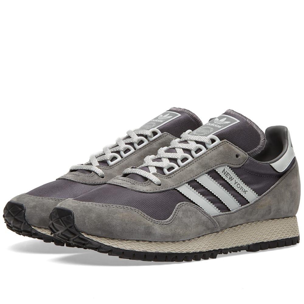 ciervo Atar trigo  Adidas Originals Adidas New York Og In Grey | ModeSens