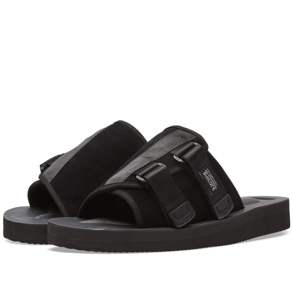 0190dcbe9581 Suicoke Kaws-Vs In Black