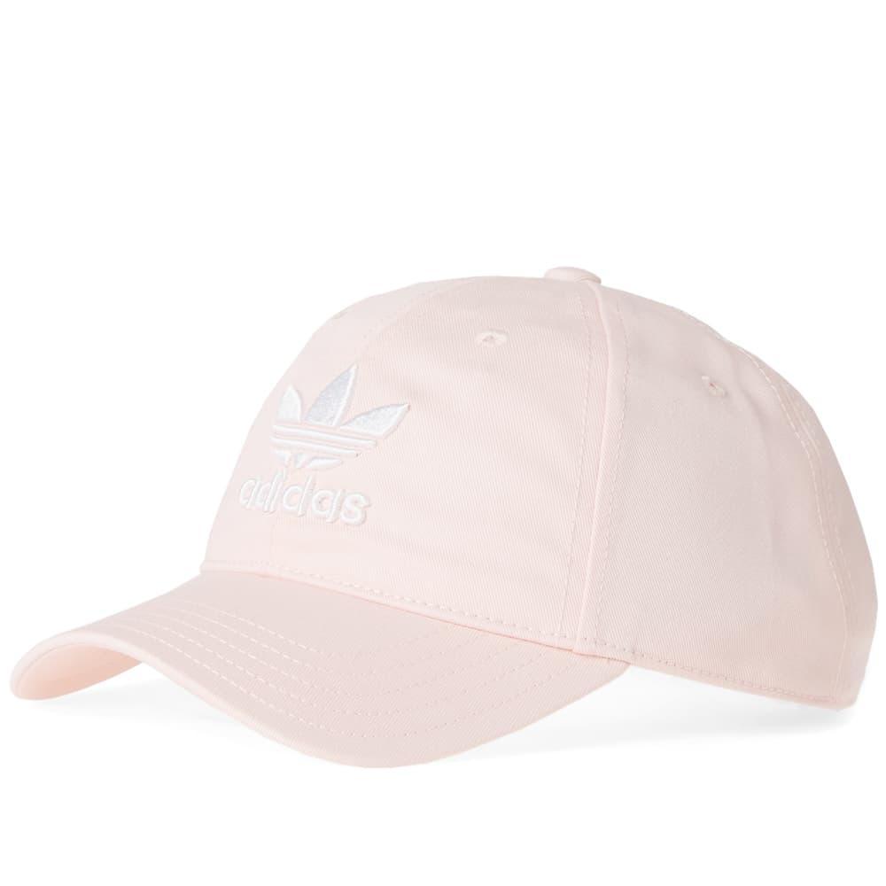 Adidas Originals Adidas Trefoil Cap In Pink