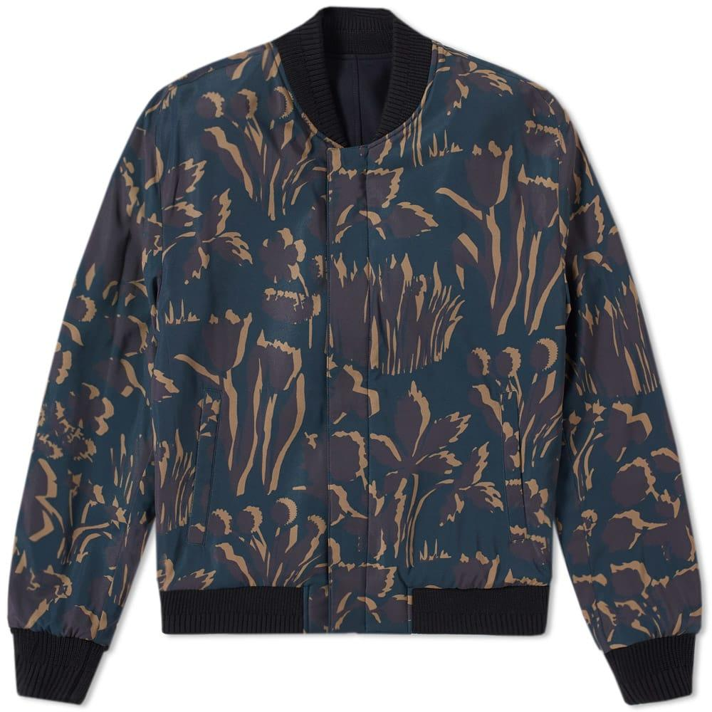 Wooyoungmi Reversible Bomber Jacket In Blue