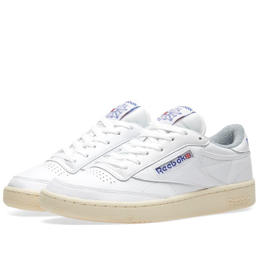 63cfbff3 Reebok Club C 85 Vintage In White | ModeSens