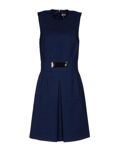 Just Cavalli Short Dress In Dark Blue