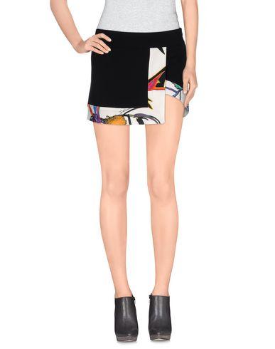 Just Cavalli Mini Skirt In Black