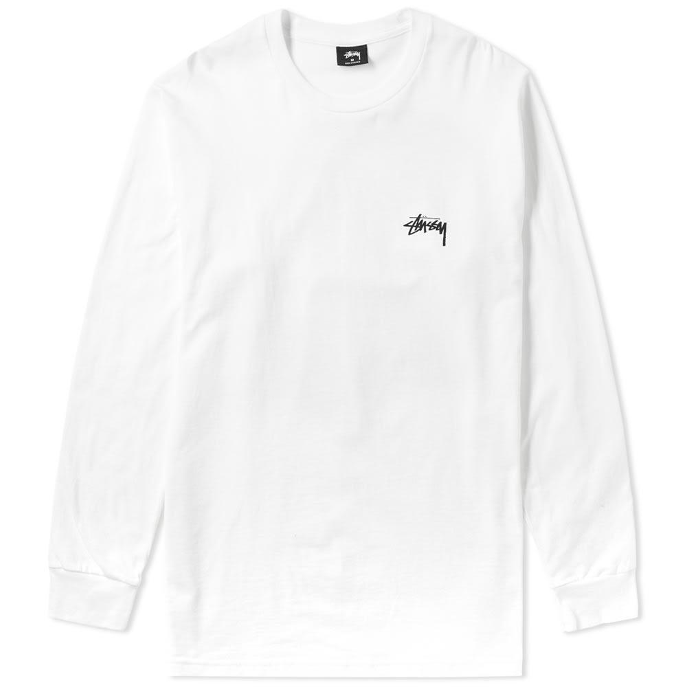 f4d13c349 Stussy Long Sleeve Jester Tee In White | ModeSens