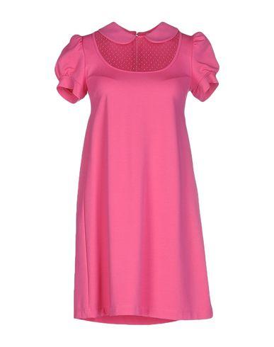 Red Valentino Short Dress In Fuchsia